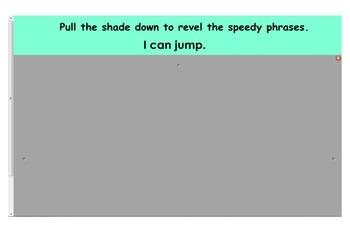 Dolch Pre-Primer Sight Words Speedy Phrases Smart Board