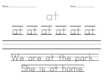 Dolch Primer Spelling Packet