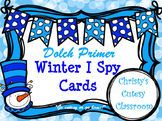 Dolch Primer Winter I Spy Cards