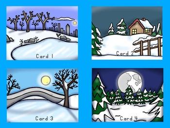 Dolch Primer Winter I Spy Cards