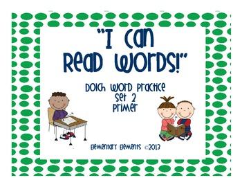 Dolch Primer Word List Enrichment