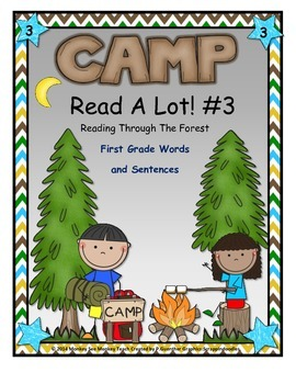 Dolch First Grade  Words Camping Theme Set 3