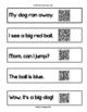 Dolch QR Code Sentences Bundle (fluency & accuracy)