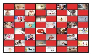 Dolch Regular Site Words Pre-K Through 3rd Grade Checkerboard Game