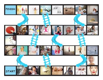 Dolch Regular Site Words Pre-K Through 3rd Grade Chutes-Ladders  Game