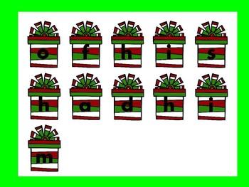 Dolch Santa Build a Sight Word--First Grade