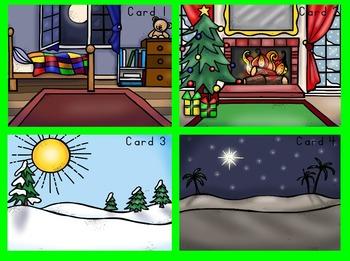 Dolch Second Grade Christmas I Spy Cards