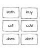 Dolch Second Grade Flash Cards