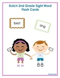 Dolch Second Grade High Frequency Sight Word Vocabulary Fl