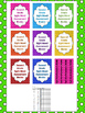 Dolch Dot 2nd Grade High Frequency Words Sight Word Tracking System