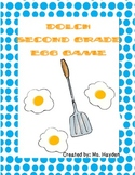 Dolch Second Grade: Sight Word Egg Game