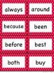 Dolch Second Grade Sight Word Flash Cards