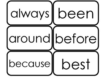 Dolch Second Grade Sight Word Flash Cards in a PDF file. 2nd Grade flash cards