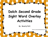 Dolch Second Grade Sight Word Overlay Activities