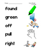 Dolch Second Grade Sight Word Picture Match