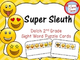 Dolch Second Grade Sight Word Puzzle Cards