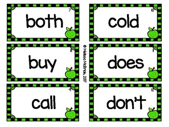 Dolch Second Grade Sight Words