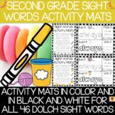 Dolch Second Grade Sight Words Activity Mats Set