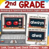 Dolch Second Grade Sight Words Digital