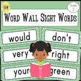 Dolch Second Grade Sight Words Word Wall Cards