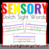 Dolch Sensory Words