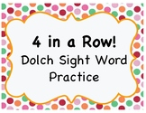 (PreK-3) Dolch Sight Word 4 in a Row! (12 board games included!)