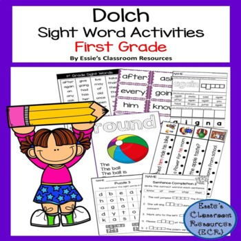 Dolch Sight Word Activity - First Grade