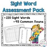 Sight Word Assessment