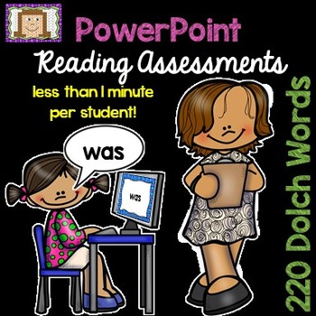 Dolch Sight Word Assessment