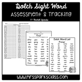 Dolch Sight Word Assessment & Tracking