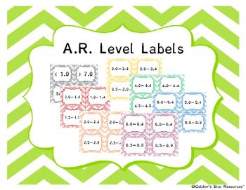 AR Level Label