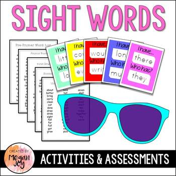 Dolch Sight Word Study (Bundle!)