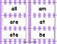 Dolch Sight Word BANG! Game Kindergarten