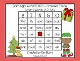 Dolch Sight Word BINGO - Grade 1 Christmas Edition