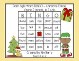 Dolch Sight Word BINGO - Grade 2 Christmas Edition