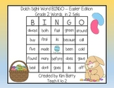Dolch Sight Word BINGO - Grade 2 Easter Edition
