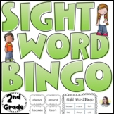 Dolch Sight Word Bingo (2nd Grade)