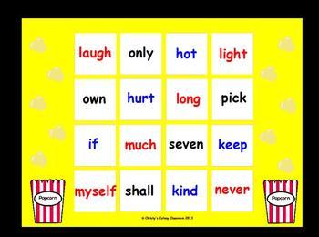 Dolch Sight Word Bingo--Grade Three List