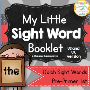 Dolch Sight Word Booklet - the (Pre-Primer)