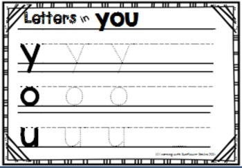 Dolch Sight Word Booklet - you (Pre-Primer)