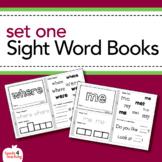 Dolch Sight Words Printable Books - Pre-Primer Set