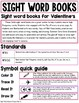 Valentine's Day Activities for Kindergarten - Sight Words