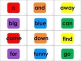 Dolch Sight Word Candyland® Cards: Pre-Primer