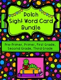 Dolch Sight Word Card Bundle: Pre-Primer - Third Grade