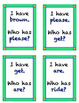 Dolch Sight Word Card Game - Primer list