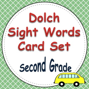Dolch Sight Word Cards (2nd Grade List)
