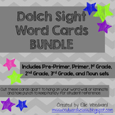 Dolch Sight Word Cards- BUNDLE
