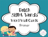 Dolch Sight Word Cards - Primer