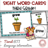 Dolch Sight Word Cards: Third Grade