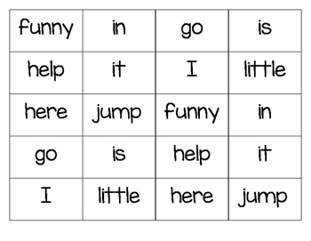 Dolch Sight Word Coloring Grids